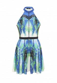 Синее итальянское платье Byblos