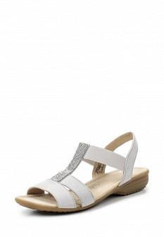 Женские серые сандалии Caprice