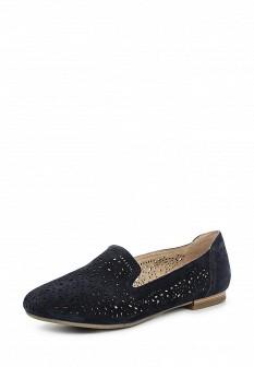 Женские синие туфли Caprice