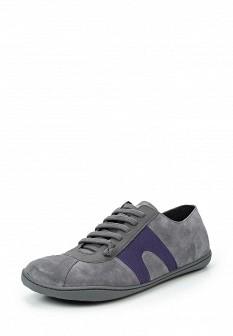 Мужские серые осенние кроссовки