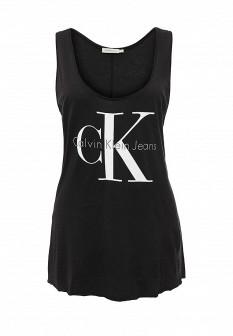 Женская черная майка Calvin Klein Jeans