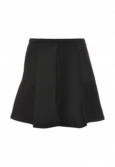 Черная осенняя юбка CONVER