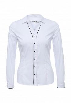 Белая осенняя блузка CONVER