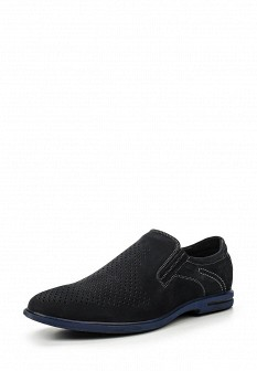 Мужские черные туфли лоферы Covani