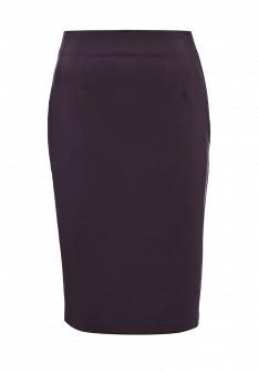 Фиолетовая осенняя юбка Concept Club