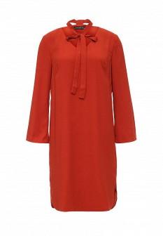Оранжевое осеннее платье Concept Club