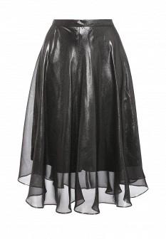 Осенняя серебряная юбка