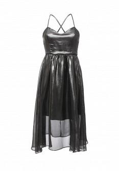 Осеннее серебряное платье Concept Club