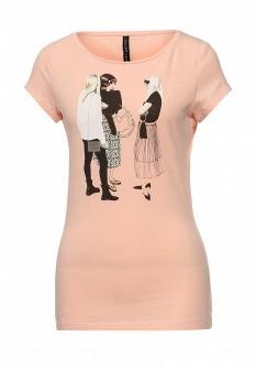 Женская розовая футболка Concept Club