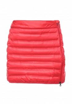 Красная осенняя юбка Columbia
