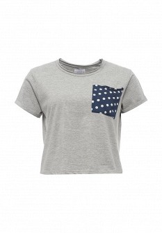 Женская серая футболка Compania Fantastica