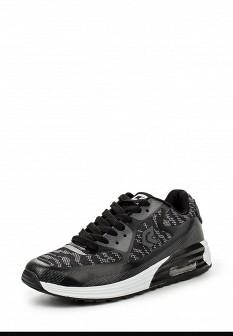 Женские черные осенние кроссовки