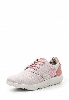 Женские розовые кроссовки Crosby