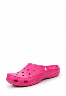 Женские розовые сабо CROCS
