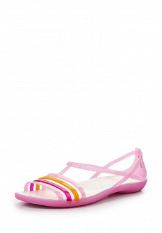 Женские розовые сандалии CROCS