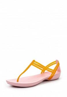 Женские оранжевые сандалии