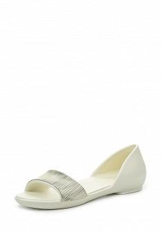 Женские белые сандалии с высоким голенищем