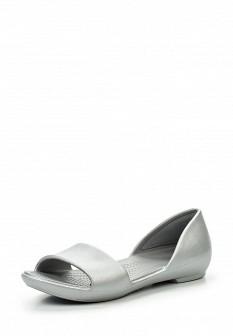 Женские серебряные сандалии с высоким голенищем