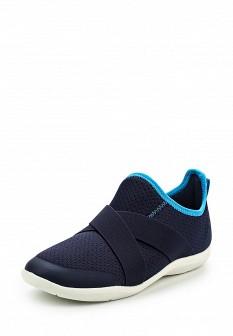 Женские синие кроссовки CROCS