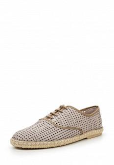 Мужские серые испанские кожаные туфли