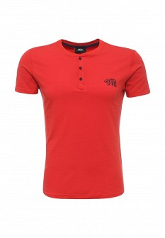 Мужская красная итальянская осенняя домашняя футболка