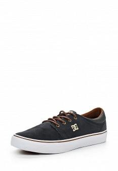 Мужские серые осенние кеды DC Shoes