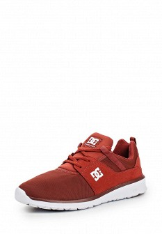 Мужские красные кроссовки DC Shoes