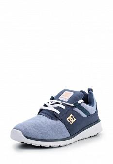 Женские голубые кроссовки DC Shoes