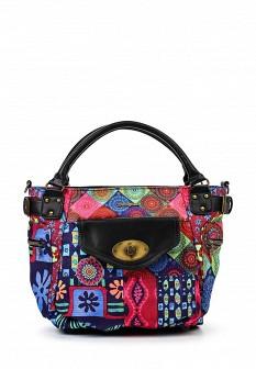 Женская кожаная сумка Desigual