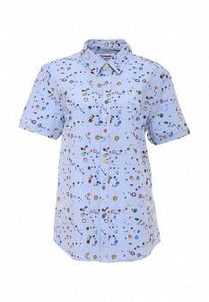 Мужская голубая рубашка Desigual