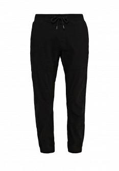 Мужские черные осенние спортивные брюки