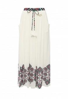 Белая испанская юбка