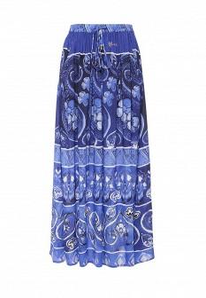 Синяя испанская юбка