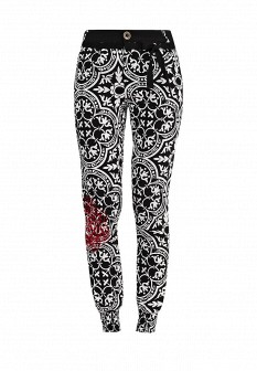 Женские черные брюки Desigual