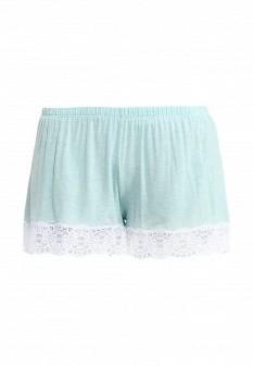 Женские мятные шорты Дефиле