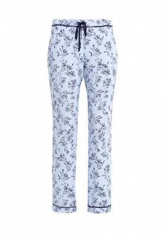Женские голубые осенние брюки