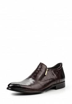 Мужские коричневые осенние классические кожаные ботинки