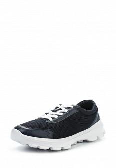 Мужские синие испанские кожаные кроссовки