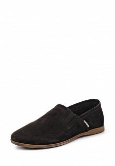 Мужские коричневые туфли лоферы