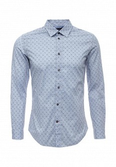 Мужская голубая рубашка Diesel