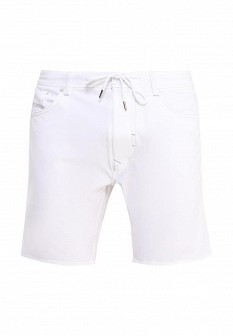 Мужские белые шорты Diesel
