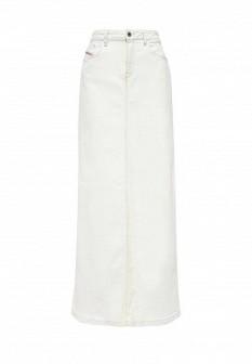 Бежевая итальянская осенняя юбка