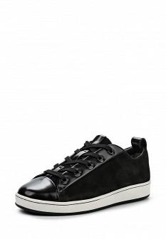 Женские черные осенние кеды DKNY