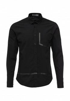 Мужская черная рубашка Drywash