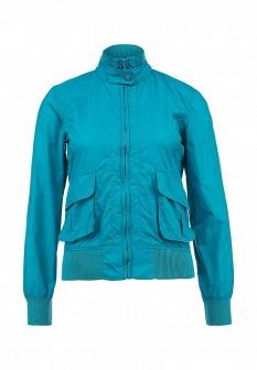 Женская бирюзовая осенняя куртка