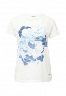 Женская белая футболка Drywash