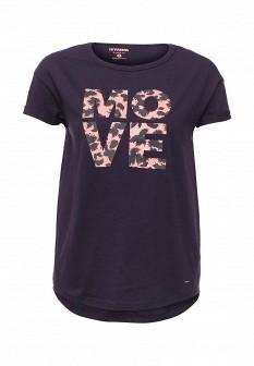 Женская фиолетовая футболка Drywash