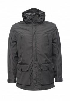 Мужская зеленая серая утепленная осенняя куртка