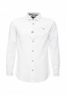 Мужская белая рубашка E-BOUND