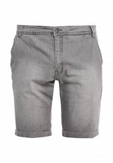 Мужские серые джинсовые шорты